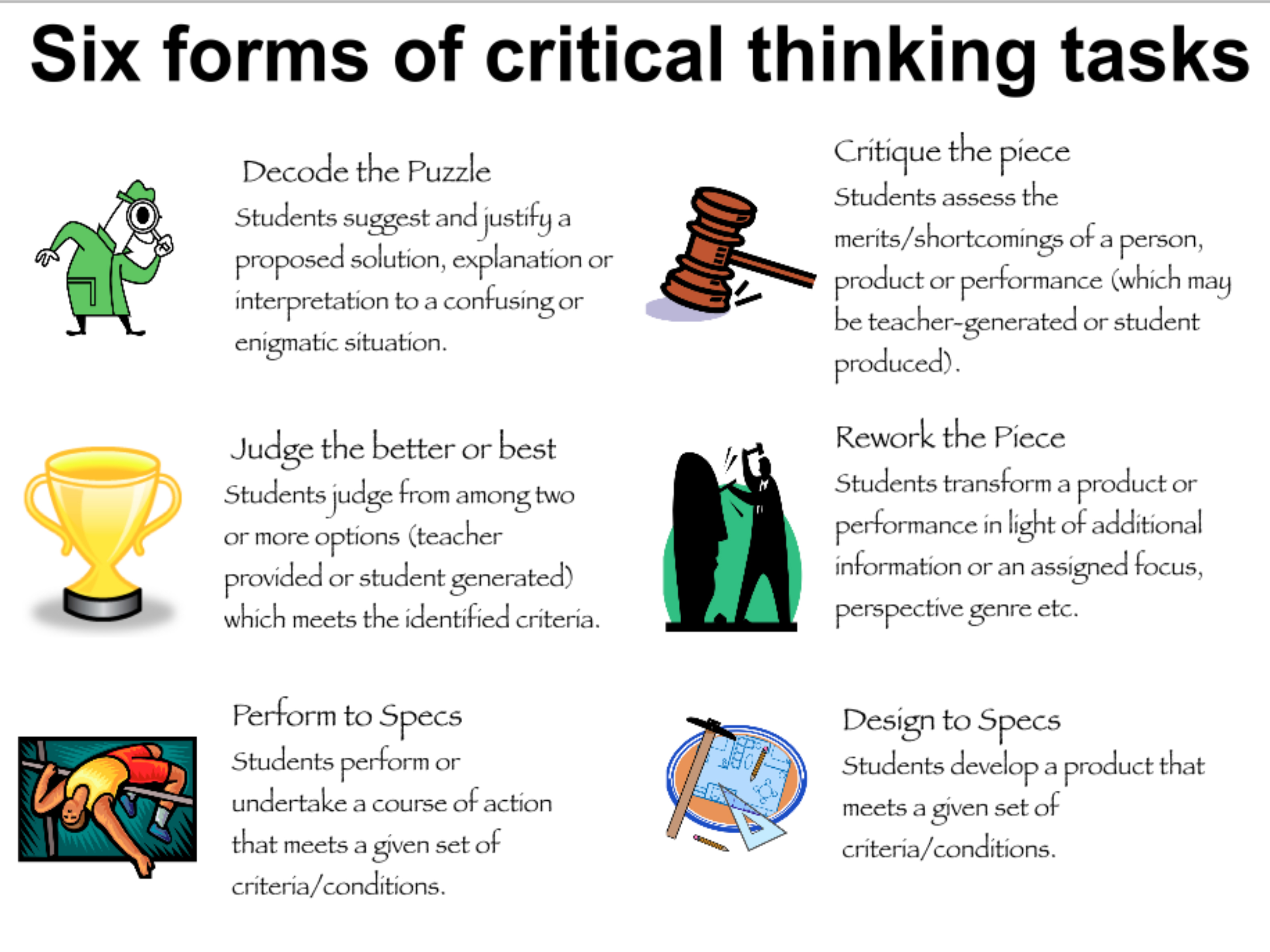 critical thinking garfield gini newman
